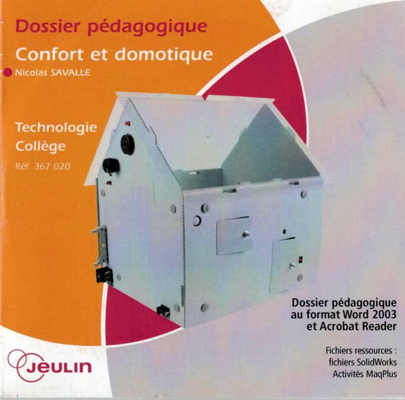 Dossier pédagogique Domotique